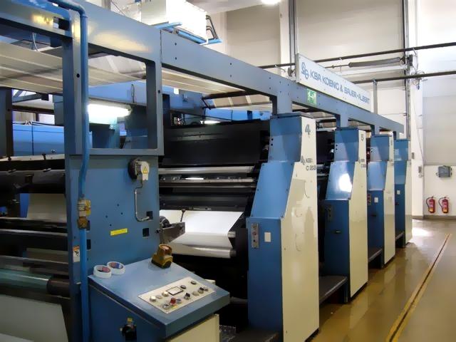 16-страничная heat-set книжно-журнальная рулонная машина KBA Compacta 213