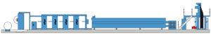 классическое партерное построение KBA Compacta 217 (4 печатные секции)