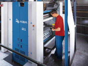 печатная секция KBA Continent