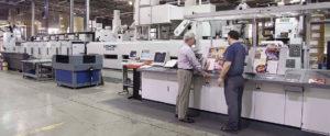 ролевая печатная машина Komori System 20