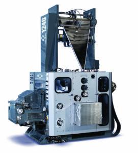 клапанно-барабанный фальцаппарат Manugraph DGM F1244 (1:2:2), до 12 полотен