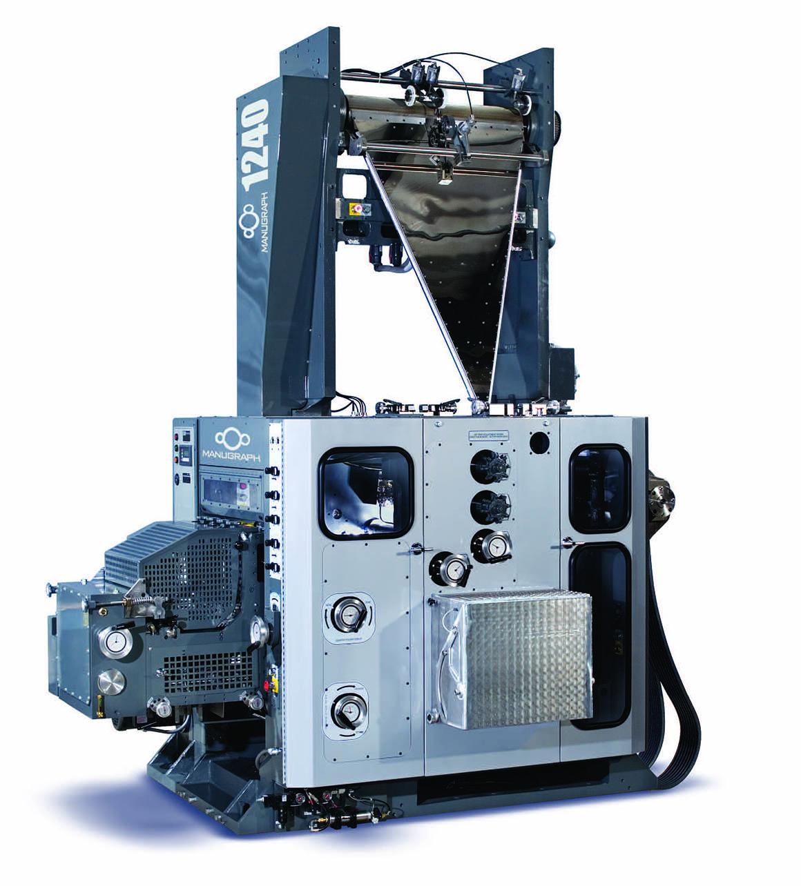 клапанно-барабанный фальцаппарат Manugraph DGM F1240 (1:2:2), до 12 полотен
