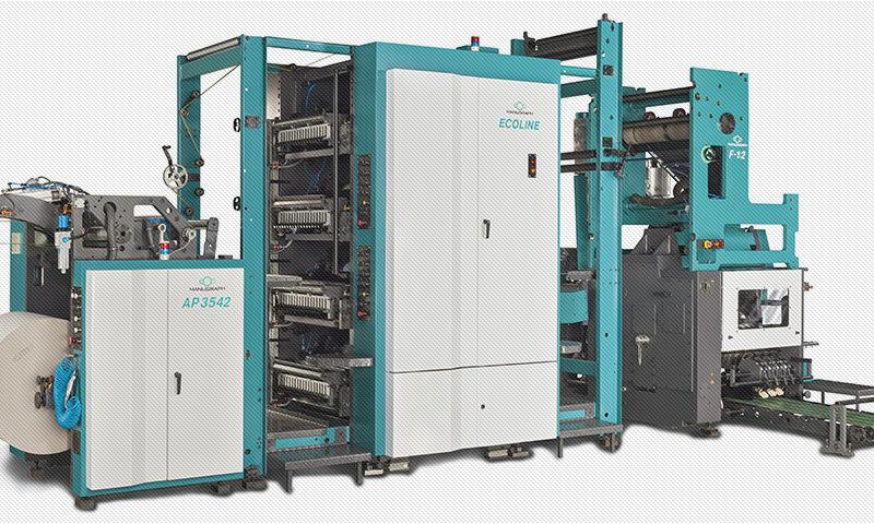 малогабаритная газетная рулонная машина Manugraph Ecoline
