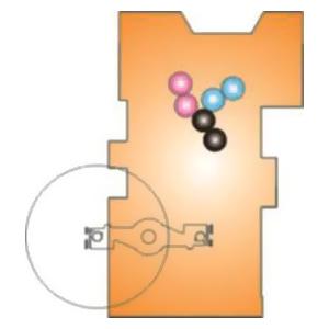 печатная Y-секция (2+1) со встроенной зарядкой (Hiline)