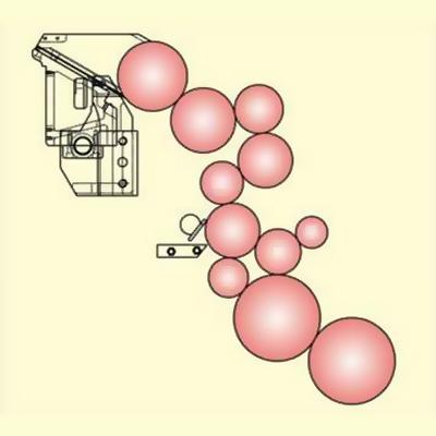 красочный аппарат Manugraph HiLine
