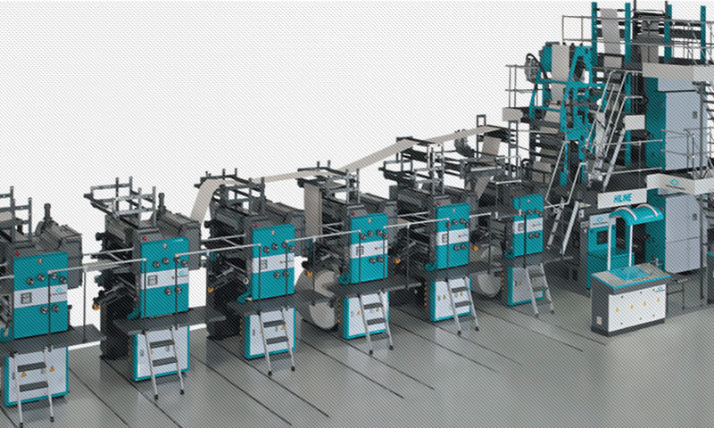 рулонная офсетная машина Manugraph Hiline