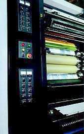 печатная секция I (1+1) машины Multigraph Manuline-16