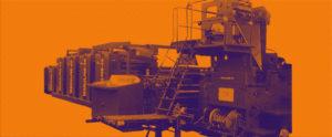 рулонная офсетная машина журнальной печати Manugraph Manuline 45