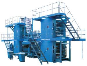рулонная печатная машина Manugraph NewsLine 45