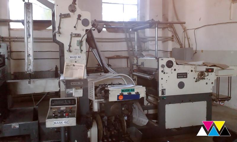 рулонная машина Manugraph Mark 62 (Ultraset Ro-62)