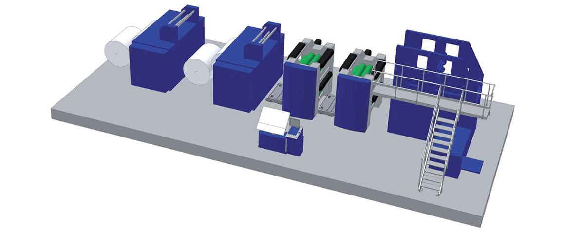 рулонная офсетная машина Solna BookLine для печати книг