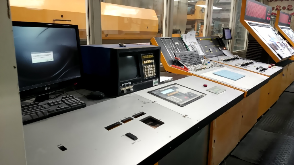 пульт управления машины рулонной акцидентной печати Solna C96