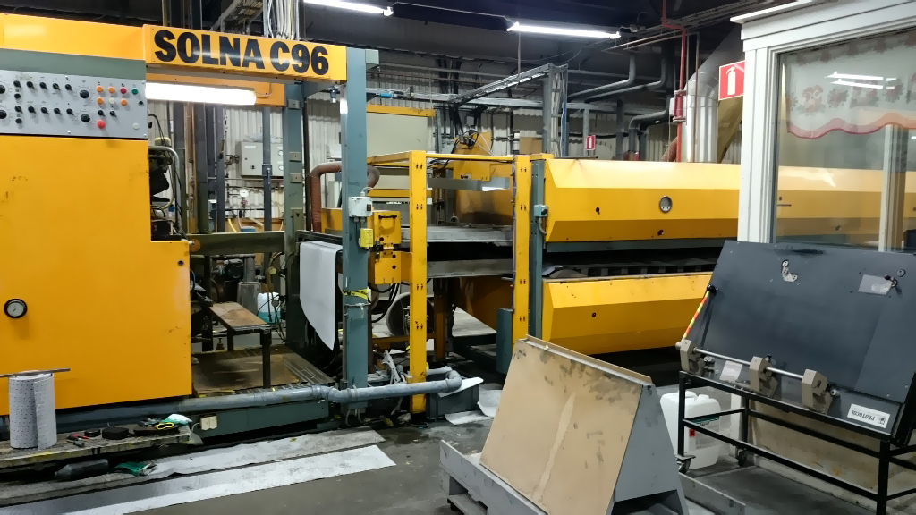 рулонная машина журнальной печати (heat-set) Solna C96 (газовая сушка)