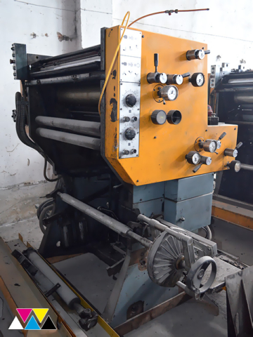 печатная секция Solna D25, I-типа (1+1), рубка 560 мм (№365 730)