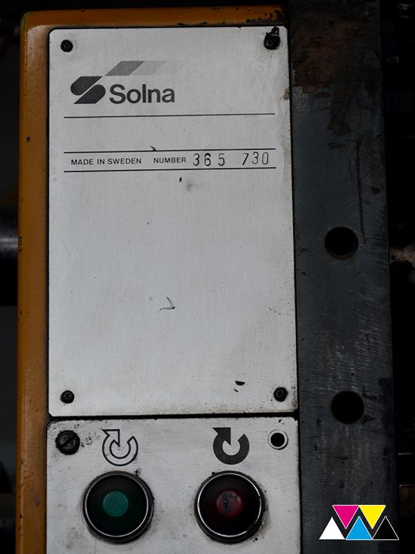 печатная секция Solna D25, I-типа (1+1), рубка 560 мм (№365 730), фото 8