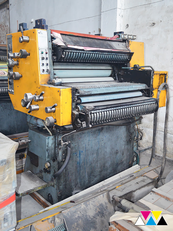печатная секция Solna D25, I-типа (1+1), рубка 560 мм (№365 731), фото 2