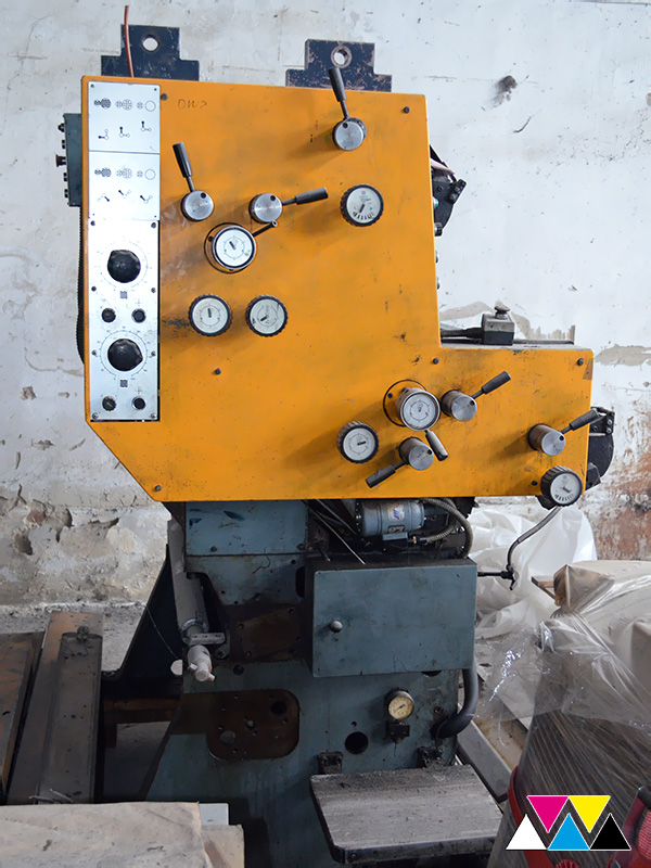 печатная секция Solna D25, I-типа (1+1), рубка 560 мм (№365 731), фото 3