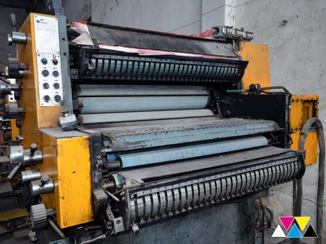 печатная секция Solna D25, I-типа (1+1), рубка 560 мм (№365 731), фото 5
