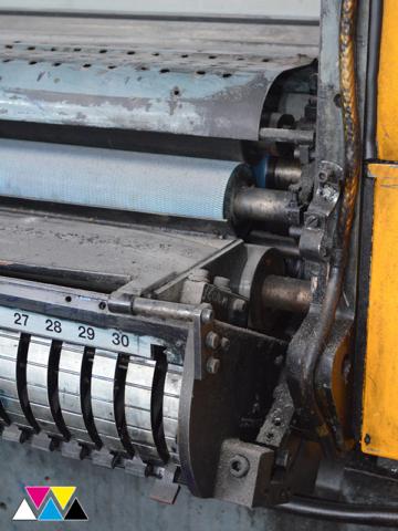 печатная секция Solna D25, I-типа (1+1), рубка 560 мм (№365 731), фото 7