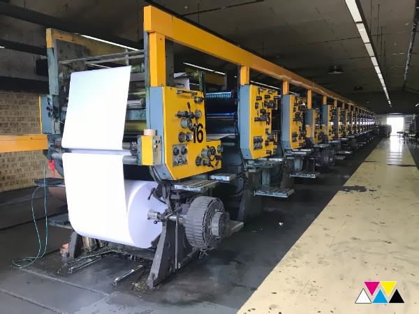 型卷筒纸轮转胶印机 Solna D30-B (1990)