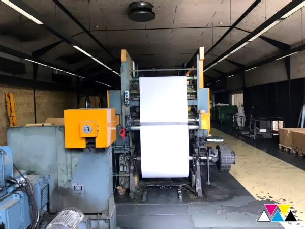 web-offset machine Solna Distributor D30-B (age 1990)