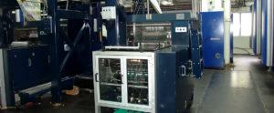 клапанно-барабанный фальцаппарат Solna F300S