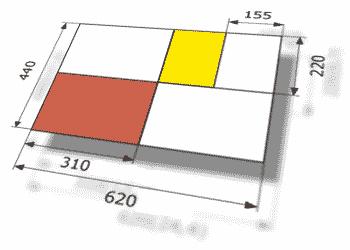 размеры тетрадей после фальцовки
