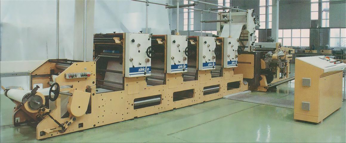 рулонная офсетная печатная машина Zirkon 6210