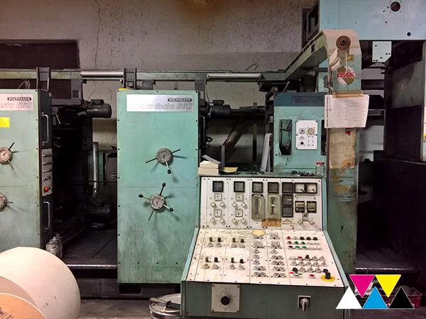 пульт управления машиной Zirkon Forta 660 (1984 г.в.)