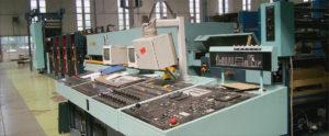 ролевая офсетная книжно-журнальная машина Zirkon Supra 660 (VEB Polygraph)