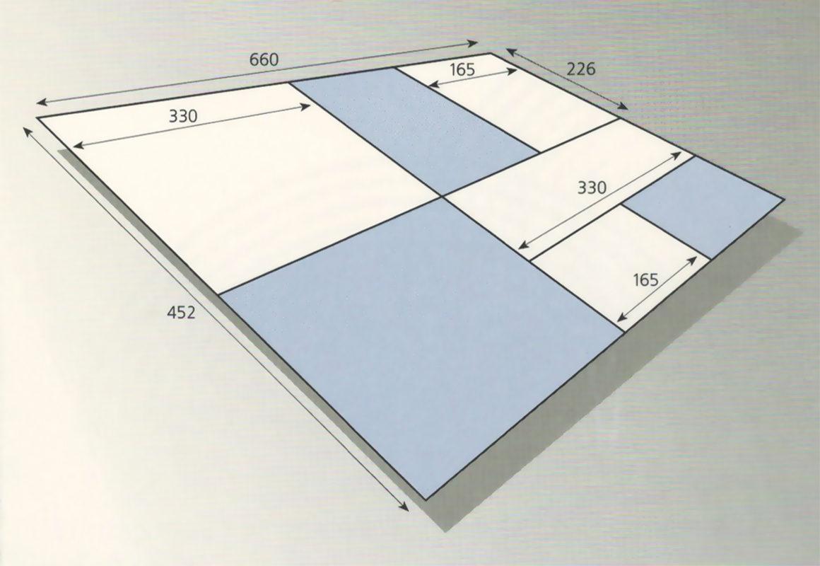 размер сфальцованной тетради zirkon 6611