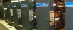 книжно-журнальная рулонная офсетная печатная машина Zirkon 6611